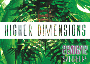 Higher Dimensions Flyer Front