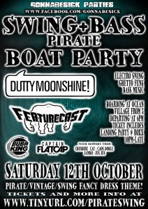 boat party flyer a